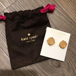Kate Spade stud earring